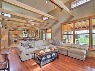 Remote Greensboro Home w/Porch & Countryside Views