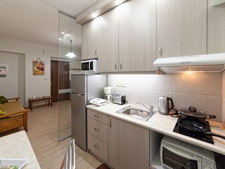 Spacious Double 100m from the beach of Rethymnon
