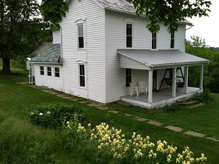 McKee Farmhouse - Relax, Hunt, Explore: 1800s farmhouse on a 240 acre farm