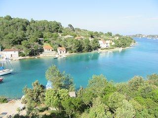 Casa con vistas al mar Croacia ideal para familias y grupos grandes.