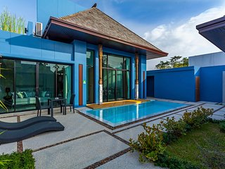 VW16: Wings Layan 2BR Private Pool Villa -Full kitchen