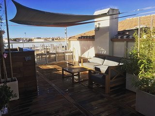 T4 Duplex Standing Centre Port/Terrasse/Wifi/Climatise