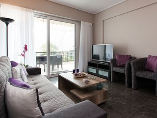 Brand new 2 bedroom apartment-sea view in Voula