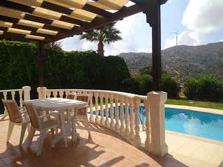 FAMILY VILLA WITH OWN POOL AND FREE USE OF COMPLEX POOLS, AQUA PARK, GYM, TENNIS