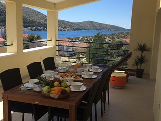 Apartment Salvia in Grebastica, Sibenik, Dalmatia, Croatia
