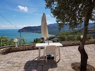 Villa Panorama, bilocale con splendida vista mare