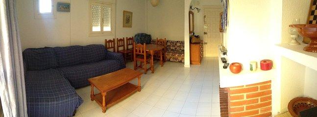 Salón muy soleado