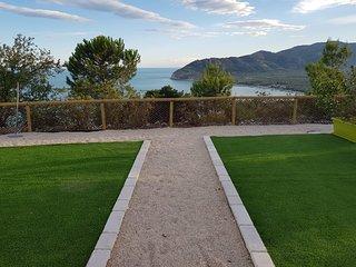 Villa Gargano, appartamento nuovo con vista mare