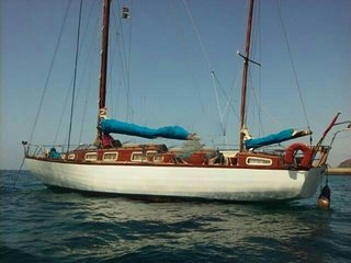 Vacaciones en velero clásico de madera/Holidays in a classic wooden sailboat