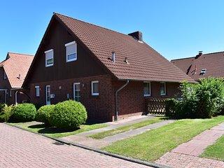 Ferienhaus 4 Personen in Hooksiel Wangerland in Strandnähe