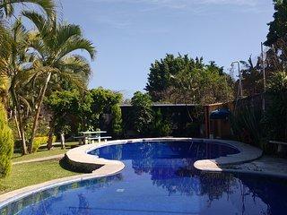 Casa amplia de fin de semana en Cuernavaca