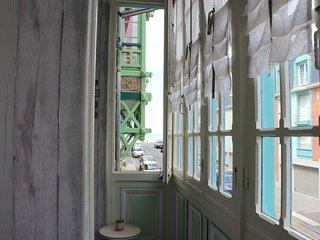 Duplex dans villa historique à Mers les bains à 30 mètres de la plage 5-7p