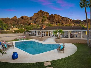 5B. 50% off Scottsdale Paradise Valley Luxury Resort Home on Camelback Mountain