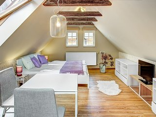 Cosy studio in the center of Prague with Parking, Air conditioning