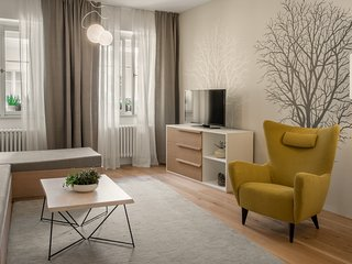 Apartment in the center of Prague with Internet, Lift, Parking (705427)