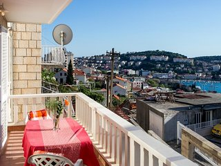 Bedroom in Dubrovnik with Air conditioning, Parking, Terrace, Balcony (989446)