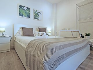 Cosy studio in the center of Malaga with Lift, Internet, Washing machine, Air co