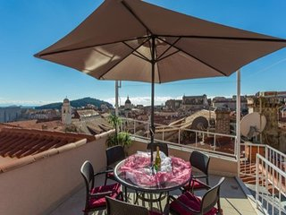 Apartment in the center of Dubrovnik with Internet, Air conditioning, Terrace, B