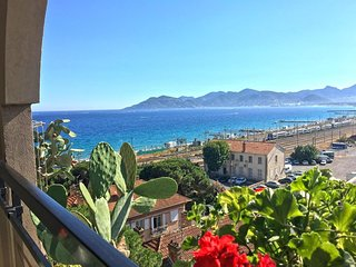 Cozy apartment in Cannes with Lift, Parking, Internet, Air conditioning