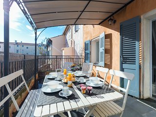 Cosy studio in the center of Cannes with Internet, Air conditioning, Terrace