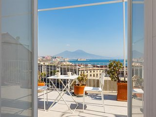 Cozy apartment in Naples with Internet, Air conditioning