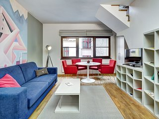 Cozy apartment in the center of Prague with Lift, Parking, Terrace