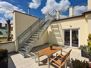 Spacious apartment in the center of Prague with Lift, Washing machine, Air condi