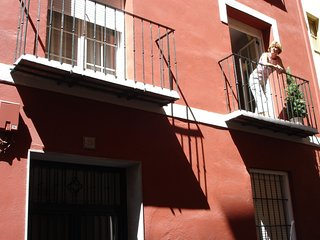 Apartment in the center of Granada with Internet, Garden, Balcony, Washing machi