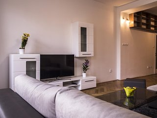 Spacious apartment in the center of Prague with Lift, Internet, Washing machine,