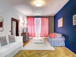 Spacious apartment in the center of Prague with Parking, Washing machine