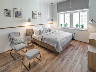 Cosy studio in the center of Prague with Parking, Internet, Washing machine, Air