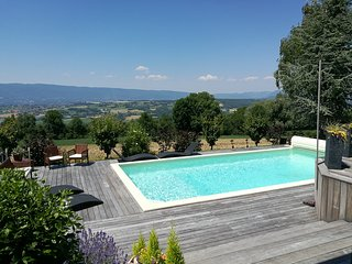 Maison avec piscine chauffee