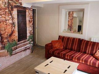 Appartement de vacances à Roussillon dans le Luberon 2 à 4 pers.