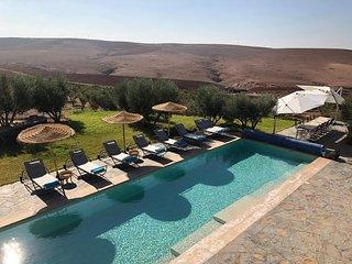 Villa de Reve aux Portes du Desert a Marrakech, pour vos evenements : DAR FATINA