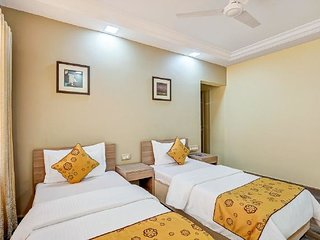 Centrally-located 1 BHK with a pool