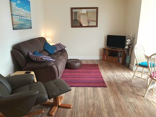 Self catering holiday apartment, central Newquay