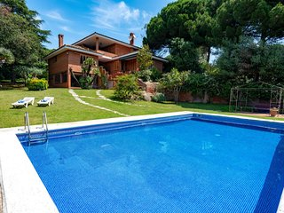 5 bedroom Villa in Sant Vicenc de Montalt, Catalonia, Spain : ref 5029612