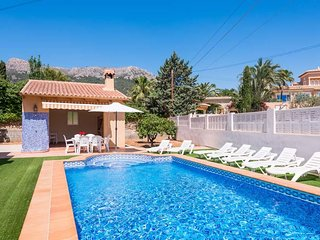 4 bedroom Villa in Calpe, Valencia, Spain : ref 5629708