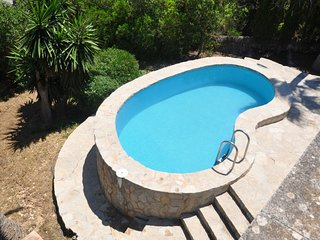 Villa Anita, house in Cala Murada 4 people with pool, aacc, BBQ, 1 km from beach