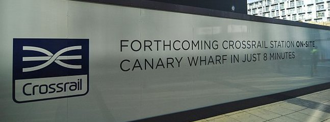 Business centre Canary Wharf with the Crossrail in just 8mns.