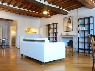 San Frediano Luxury Flat Center Town with view. Free Wi-Fi