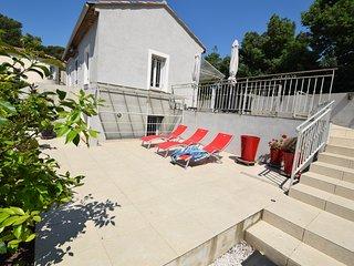 Appartamento piano terra con piscina, vista mare - Costa Azzurra