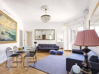 Three bedrooms apartment in Trastevere for 8 guests