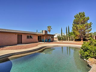 NEW! Pearce-Sunsites Home w/Pool & Desert Mtn View