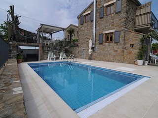 Comfortable Istrian stone house with private pool