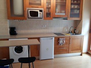 Apartamento con terraza, garaje en Playa Barro - El Barcu de Barru con SofaCama