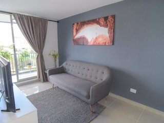 One bedroom inside Hotel Santa Ana