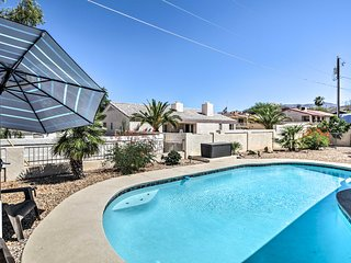 NEW! Lake Havasu House w/Pool, Patio Area & Grill!