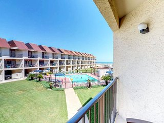 NEW LISTING! Waterfront condo w/ views of the gulf & shared pool - near beach