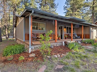 Updated Flagstaff House in Coconino Natl Forest!